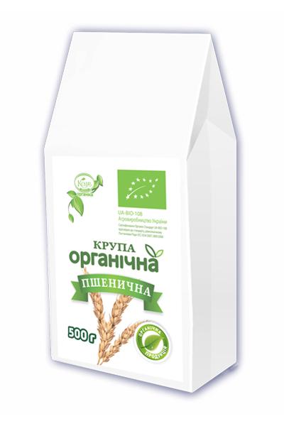 Пшенична органічна крупа