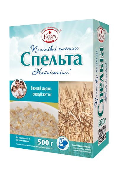 пластівці пшениці Спельта